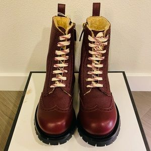 Gucci boots unisex (men size 8 and women size 11)